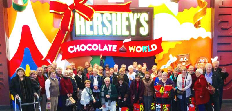 Christmas in Hershey, PA