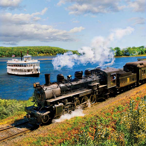 Essex Steam Train and Cruise