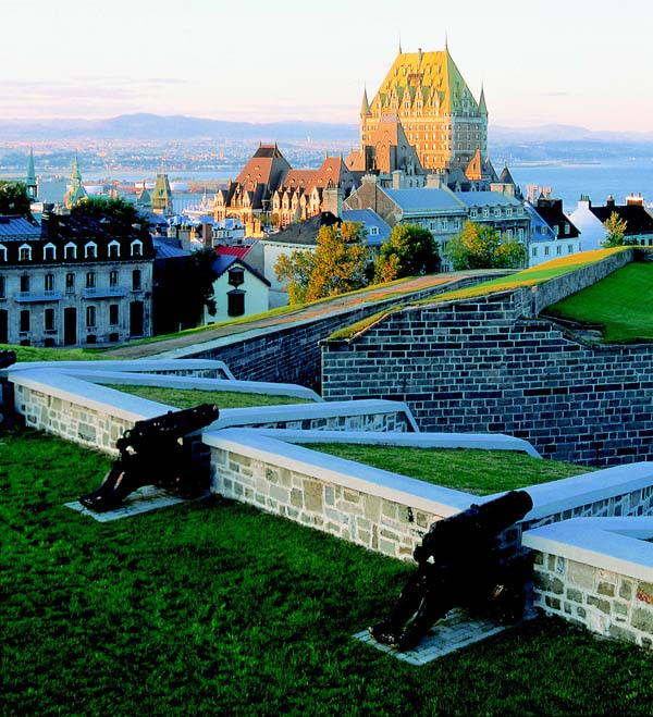 Quebec City and Montreal